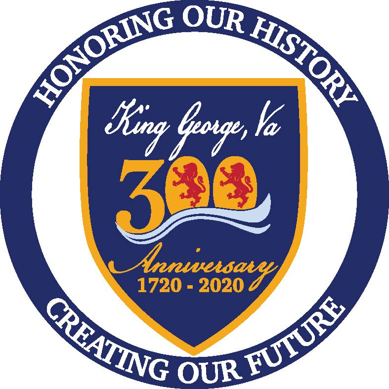 King George County 300th - Logo